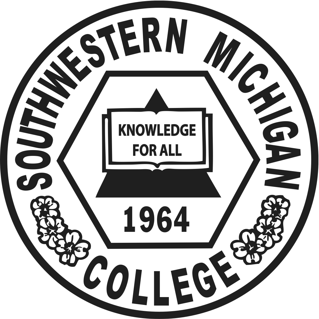 The official college seal